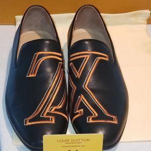 Louis Vuitton men's leather dress shoes